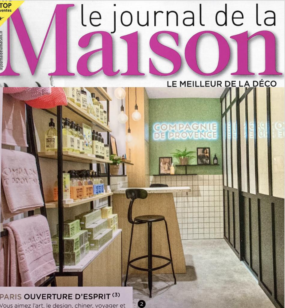 Chaises nicolle dans le Journal de la maison chez compagnie de provence