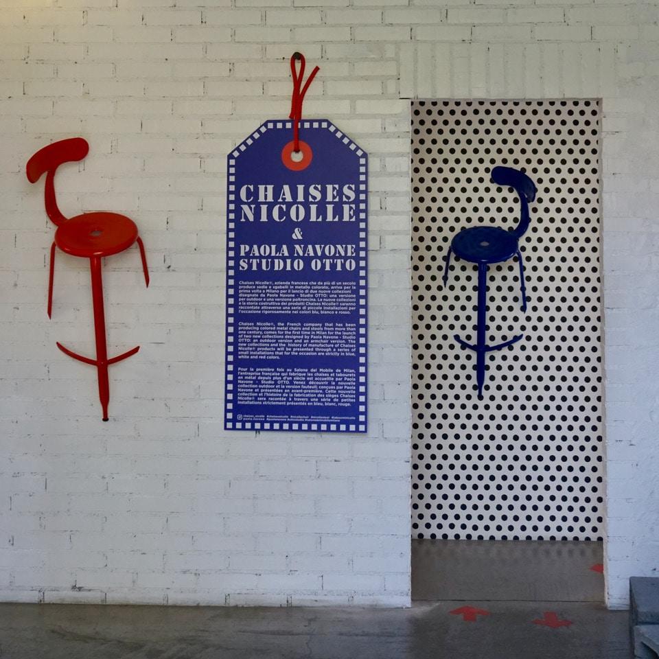 Nicolle Chairs by Paola Navone au FUORI SALONE de Milan