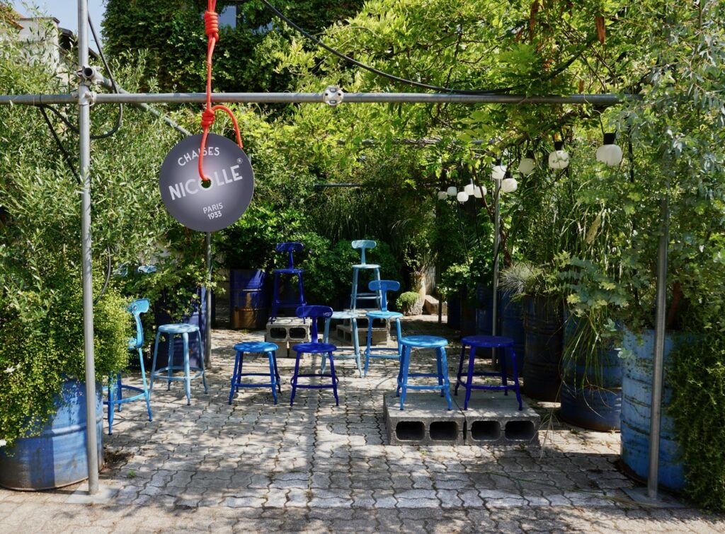 Nicolle chair Outdoor collection by Paola Navone au Fuori Salone de Milan